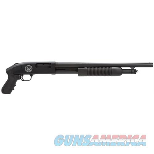 "Mossberg 57341 500 Pump 12 Gauge 18.5"" 3"" 5+1 Synthetic Pistol Grip Blk Matte Blued 57341  Guns > Shotguns > MN Misc Shotguns"