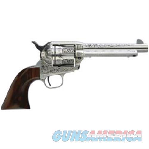 Taylor's & Co Uberti 1873 Cattleman 357Mag 5.5 Photo Engr W 704AWE  Guns > Pistols > TU Misc Pistols