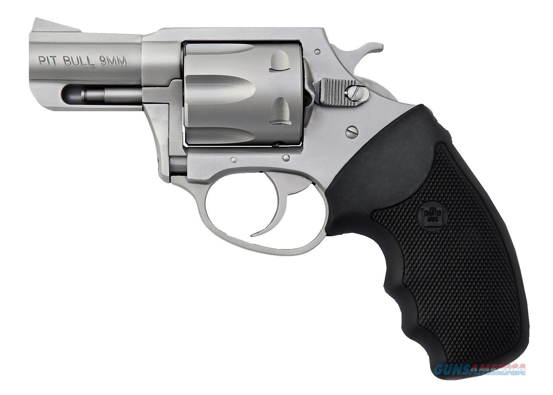 """Charter Arms 79920 Pitbull 9Mm Single/Double 9Mm 2.2"""" 5 Black Neoprene Stainless 79920  Guns > Pistols > C Misc Pistols"""