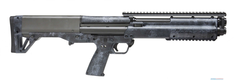 "Keltec Ksg Tactical Pump Shotgun 12 Ga 18.5"" Kryptek Typhon 12 Rd Pic Rail Top/Bottom KSGTYPHON  Guns > Shotguns > K Misc Shotguns"