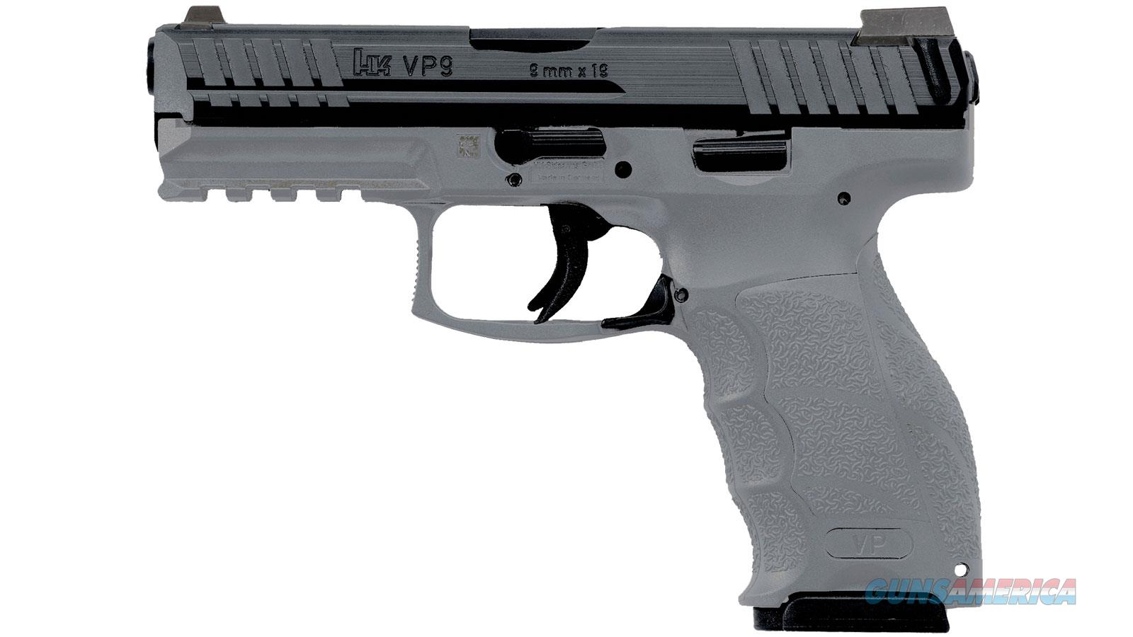 Heckler & Koch Vp9 9Mm 4.09 Gry Ns 3 10Rd 700009GYLELA5  Guns > Pistols > H Misc Pistols