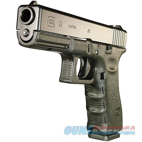 Glock G22 Standard Semi Auto Pistol 40 S&W, 4.5 In, Poly Grp, 10+1 Rnd, Fixed, Full Sz Blk Frame PI2250201  Guns > Pistols > G Misc Pistols