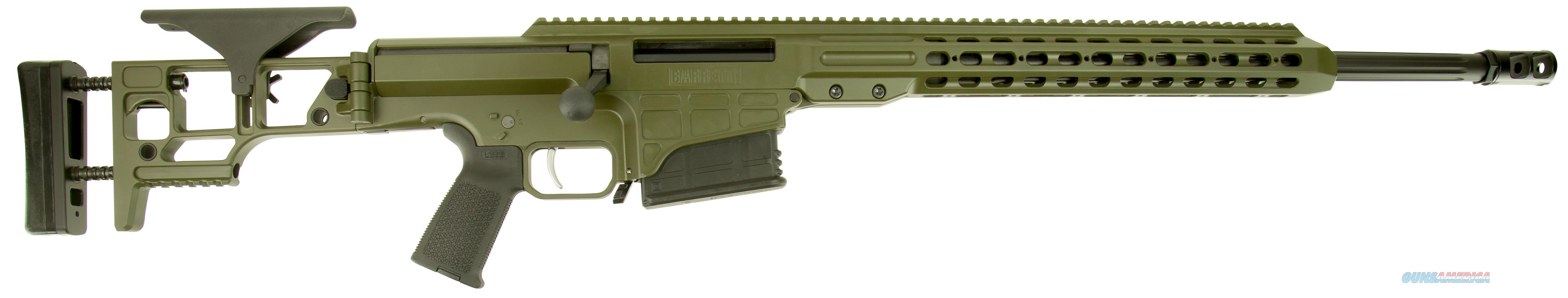 "Barrett 14367 Mrad Bolt 308 Winchester 22"" 10+1 Folding Od Green Stk Od Green/Blk 14367  Guns > Rifles > Barrett Rifles"