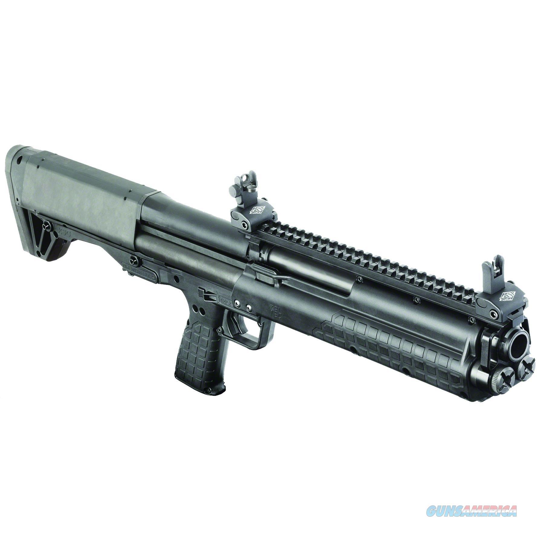 "Keltec Ksg Tactical Pump Shotgun 12Ga 18.5"" Sniper Gray Top/Bottom Pic Rail Brs Exclusive State Laws Apply KSGSNGY  Guns > Shotguns > K Misc Shotguns"