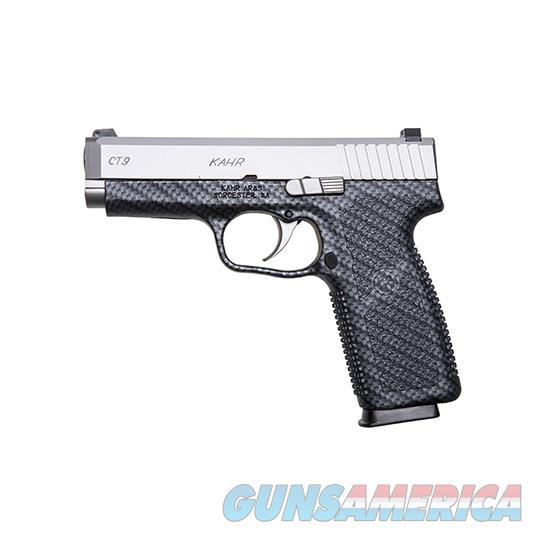 KAHR ARMS CT9 9MM 4 CARBON FIBER PRINT 3DOT SIGHTS CT9093BCF  Guns > Pistols > K Misc Pistols