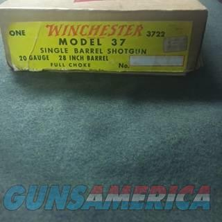 Winchester 37 20ga New in Box Rare  Guns > Shotguns > Winchester Shotguns - Modern > Bolt/Single Shot