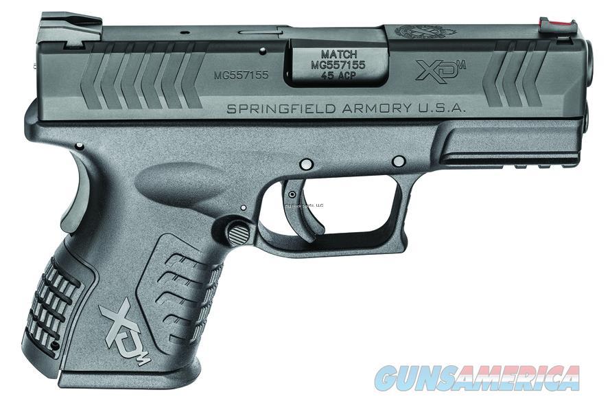 "Springfield Armory Xdm 45Acp 3.8"" 9Rd XDM93845CBE  Guns > Pistols > S Misc Pistols"