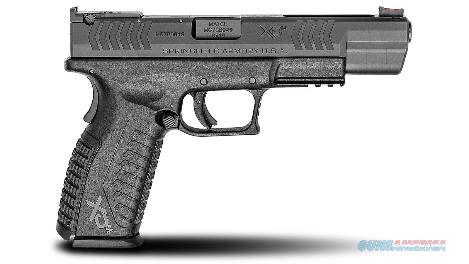 Springfield Armory Xdm 9Mm 5.25 19Rd Competition Essentials XDM95259BHCE  Guns > Pistols > S Misc Pistols