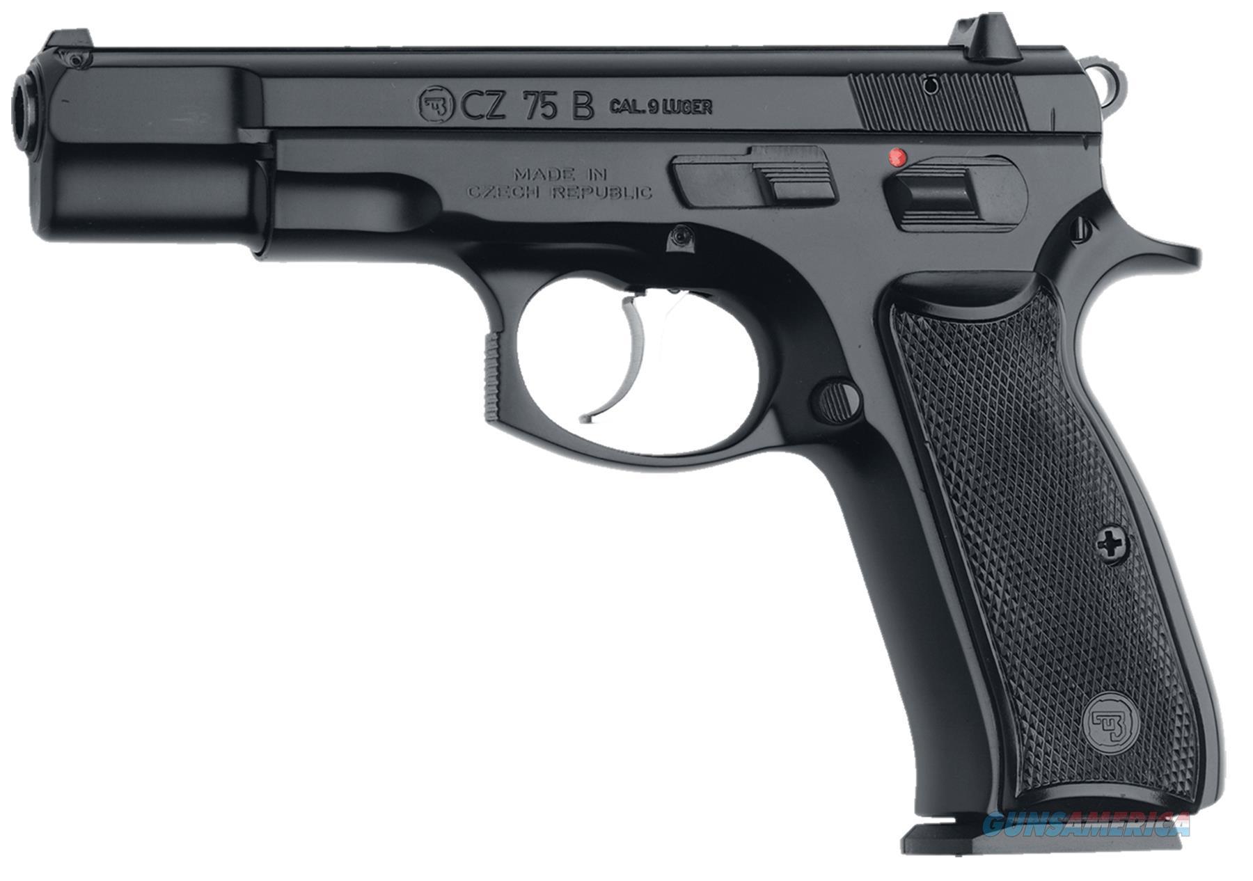 Cz Usa 75B 9Mm Blk 10Rd 01102  Guns > Pistols > C Misc Pistols