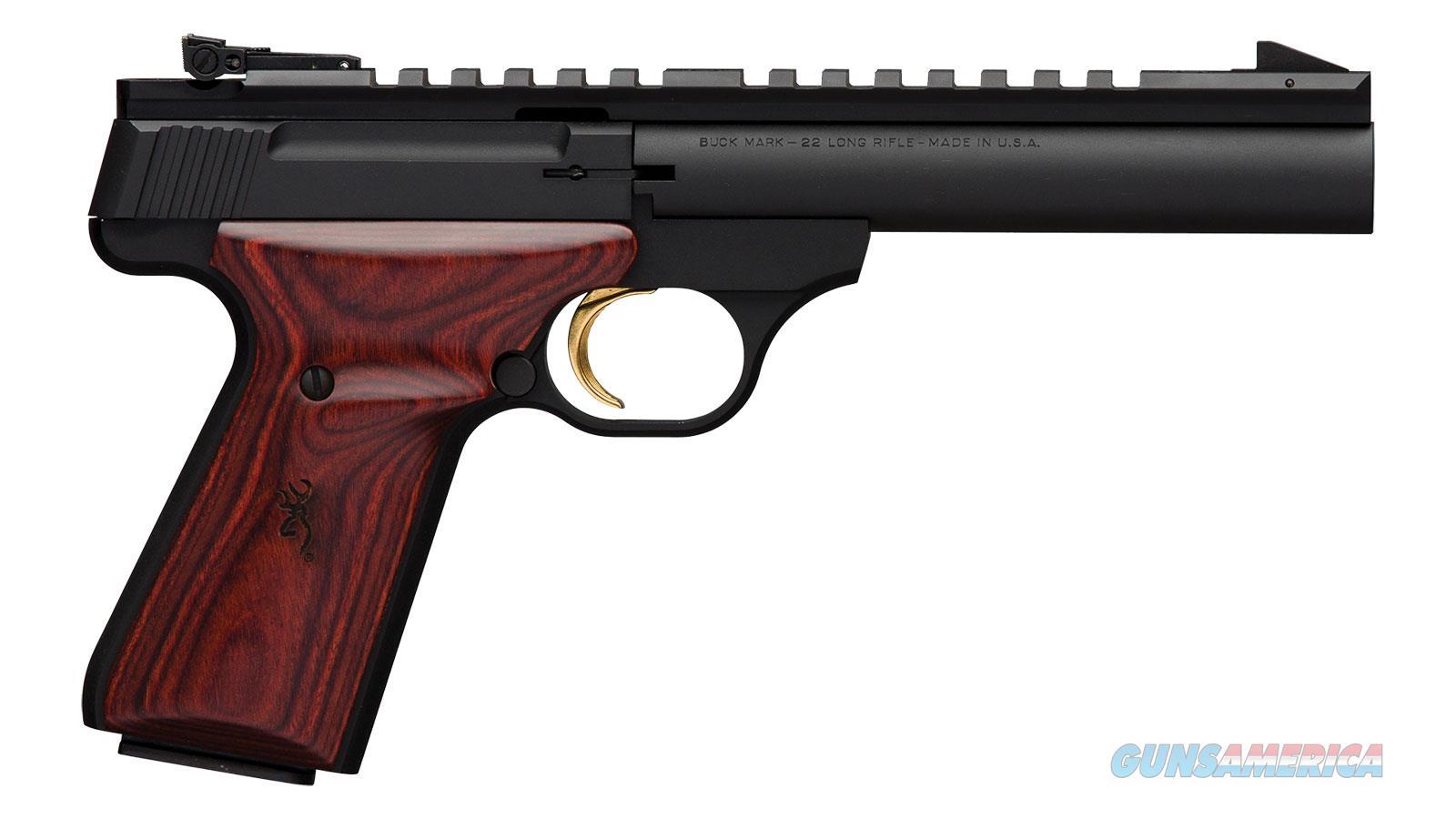 Browning Buck Mark Field Tgt 22Lr 5.5 As Pic Rail 051528490  Guns > Pistols > B Misc Pistols