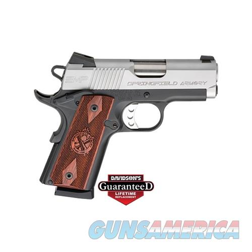 Springfield Armory 1911 Emp 40Sw 3 Duo Tone PI9240LP  Guns > Pistols > S Misc Pistols