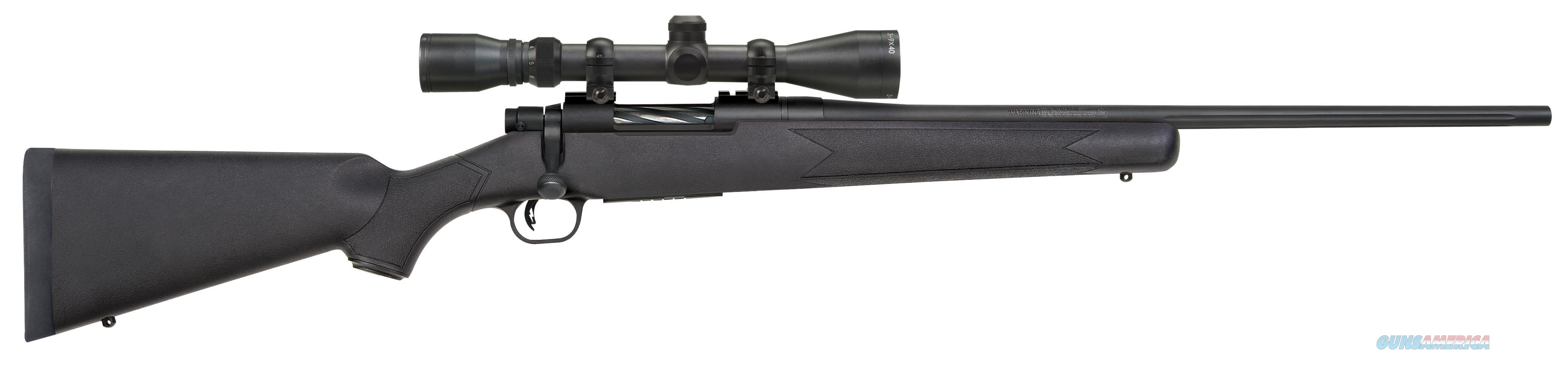 "Mossberg 27931 Patriot With Scope Bolt 243 Win 22"" 5+1 Synthetic Black Stk Black 27931  Guns > Rifles > MN Misc Rifles"