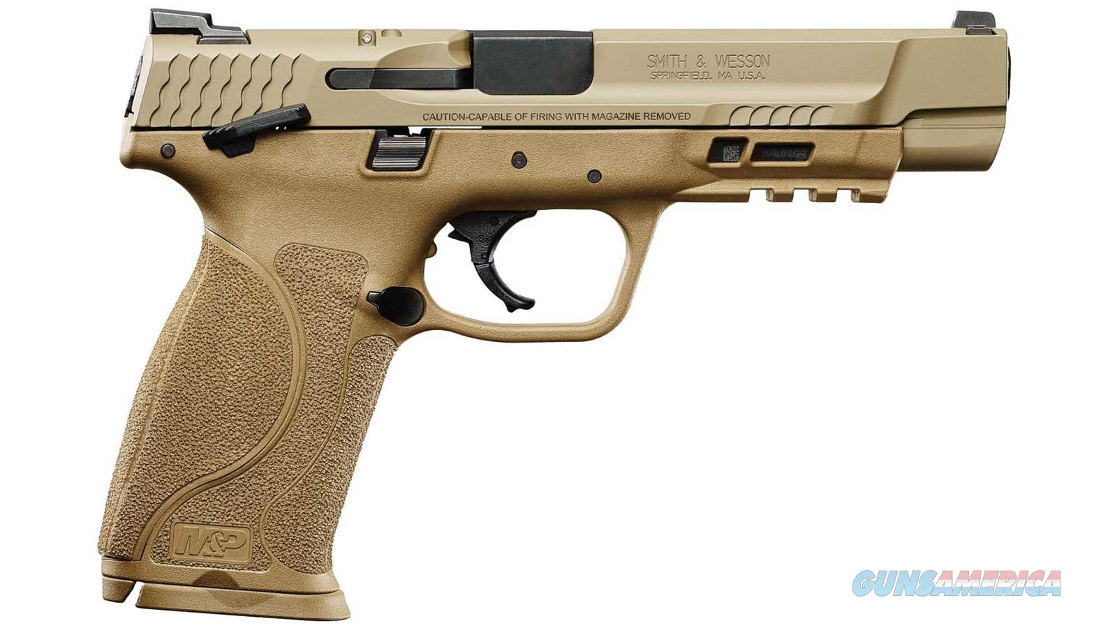 """Smith & Wesson M&P 40S&W M2.0 Fde 5"""" 15Rd Ambi Safety 11595  Guns > Pistols > S Misc Pistols"""