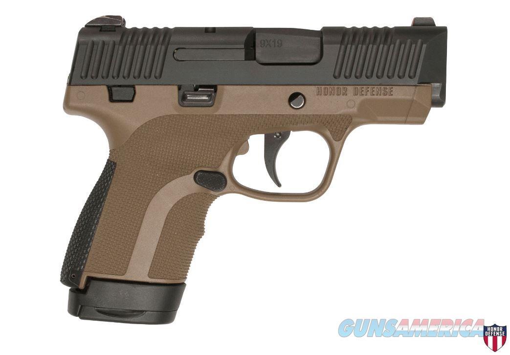 """Honor Defense Hg9scms-Fde 9Mm 3.2"""" 7Rd HG9SCMS-FDE  Guns > Pistols > H Misc Pistols"""