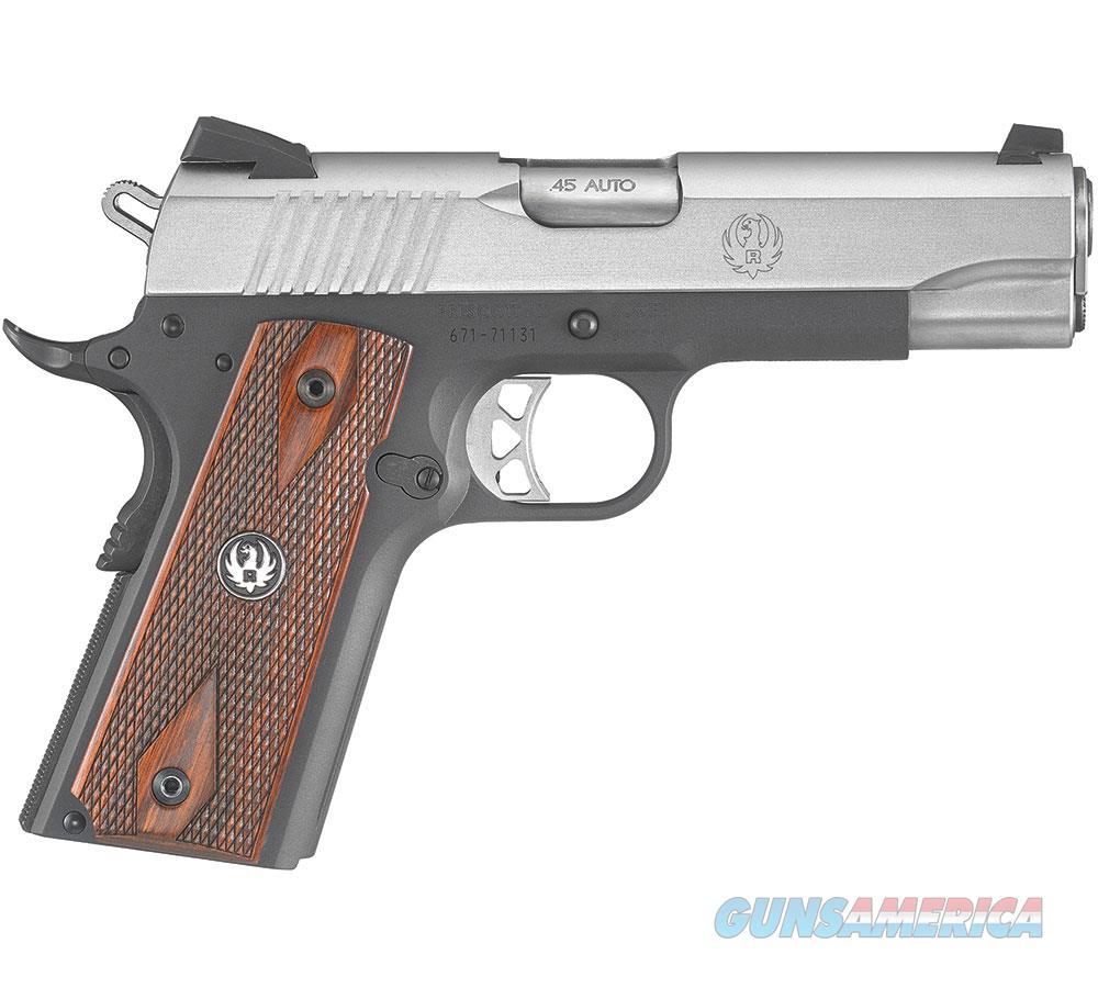 Ruger Sr1911 Comdr Ltw 45Acp 4.25 6711  Guns > Pistols > R Misc Pistols
