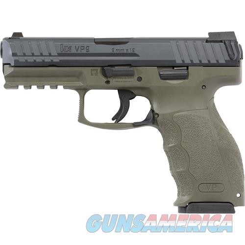 "Heckler & Koch Vp9 Striker Fired 9Mm 4.09"" Bbl 3-Dot Ns 3-10Rd Odg 700009GRLEL-A5  Guns > Pistols > H Misc Pistols"