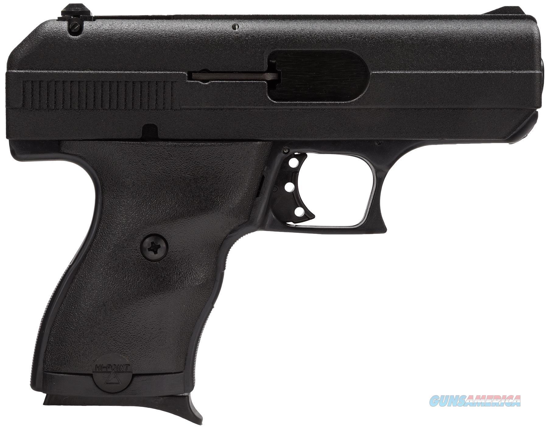 "Hi-Point 9Nyloc 9Mm W/Nylon Holster Double 3.5"" 8+1 Black Polymer Grip Black With Nylon Holster 916NYL  Guns > Pistols > H Misc Pistols"