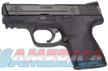 SMITH & WESSON M&P COMPACT 9MM 12RD BLK 209304  Guns > Pistols > Smith & Wesson Pistols - Autos > Polymer Frame