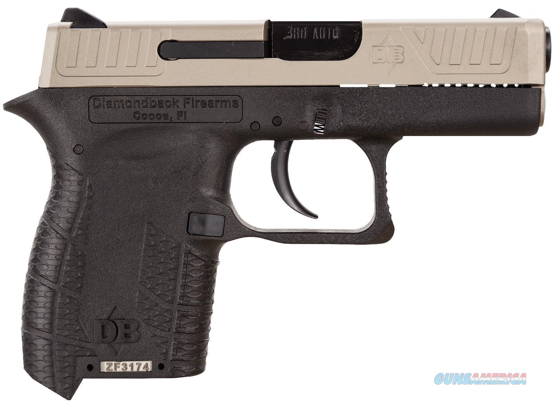 Diamondback Firearms Db380 380Acp 2.8 Ex Slide Compact 6Rd DB380EX  Guns > Pistols > D Misc Pistols