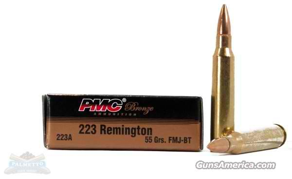 PMC Bronze 223 55gr FMJ **1000rds**  Non-Guns > Ammunition