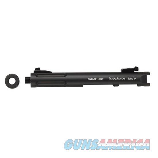 Tactical Solutions, Inc Bbl Ruger 22Lr 4.5 Pac-Lite Fluted Blk PL4.5TERF-02  Guns > Pistols > TU Misc Pistols