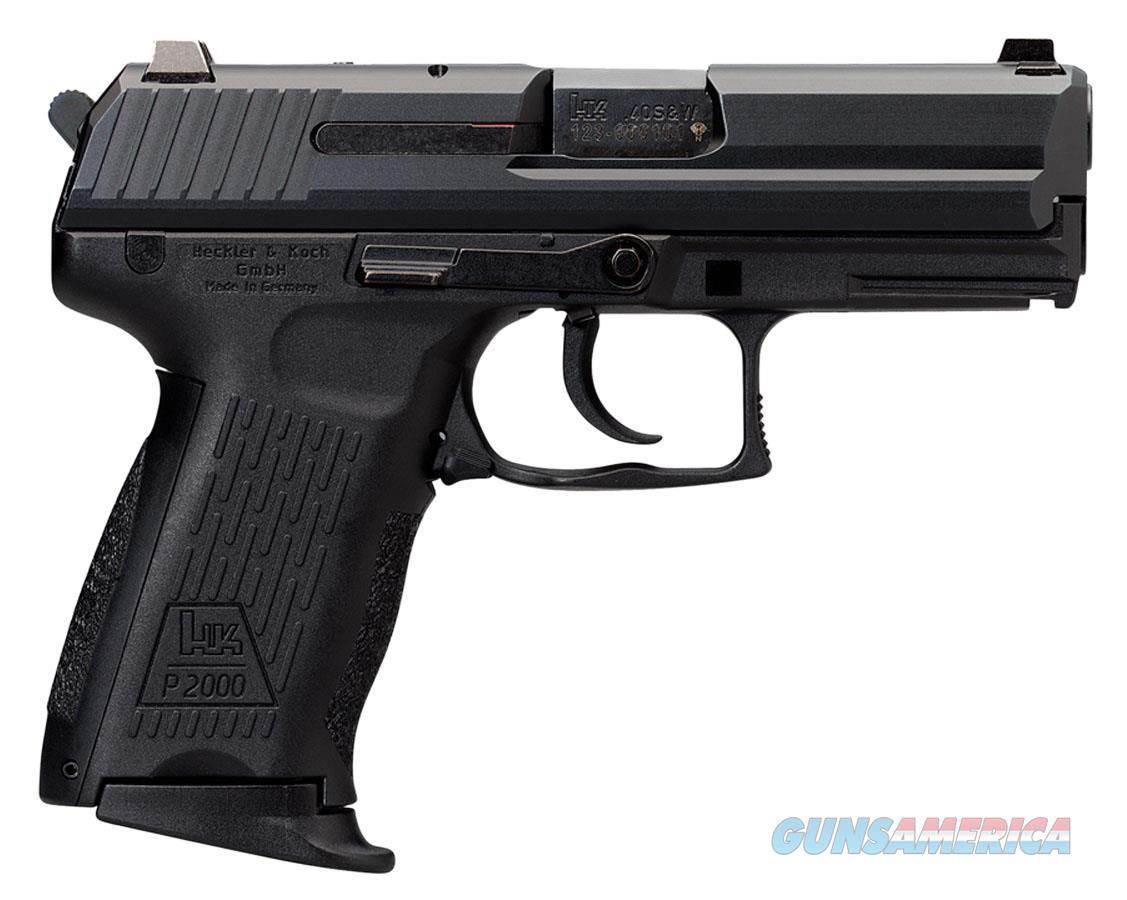 "Heckler & Koch 704203Lela5 P2000 V3 *Ca/Ma Compliant* Single/Double 40 Smith & Wesson (S&W) 3.6"" 10+1 Black Polymer Grip Black 704203LELA5  Guns > Pistols > H Misc Pistols"