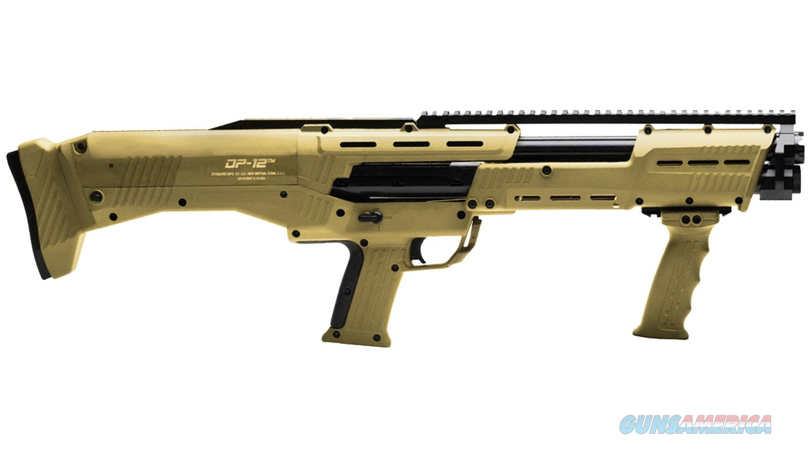 "Standard Manufacturing Co. Llc Dp-12 12G 18.5"" 16Rd DP12TAN  Guns > Shotguns > S Misc Shotguns"