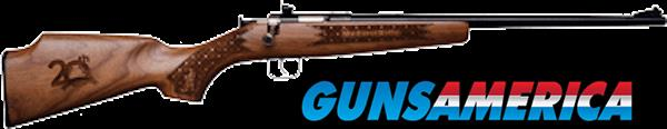 KSA CRICKETT 22LR 20TH ANNIV CHECKERED WALNUT 170  Guns > Rifles > Crickett-Keystone Rifles