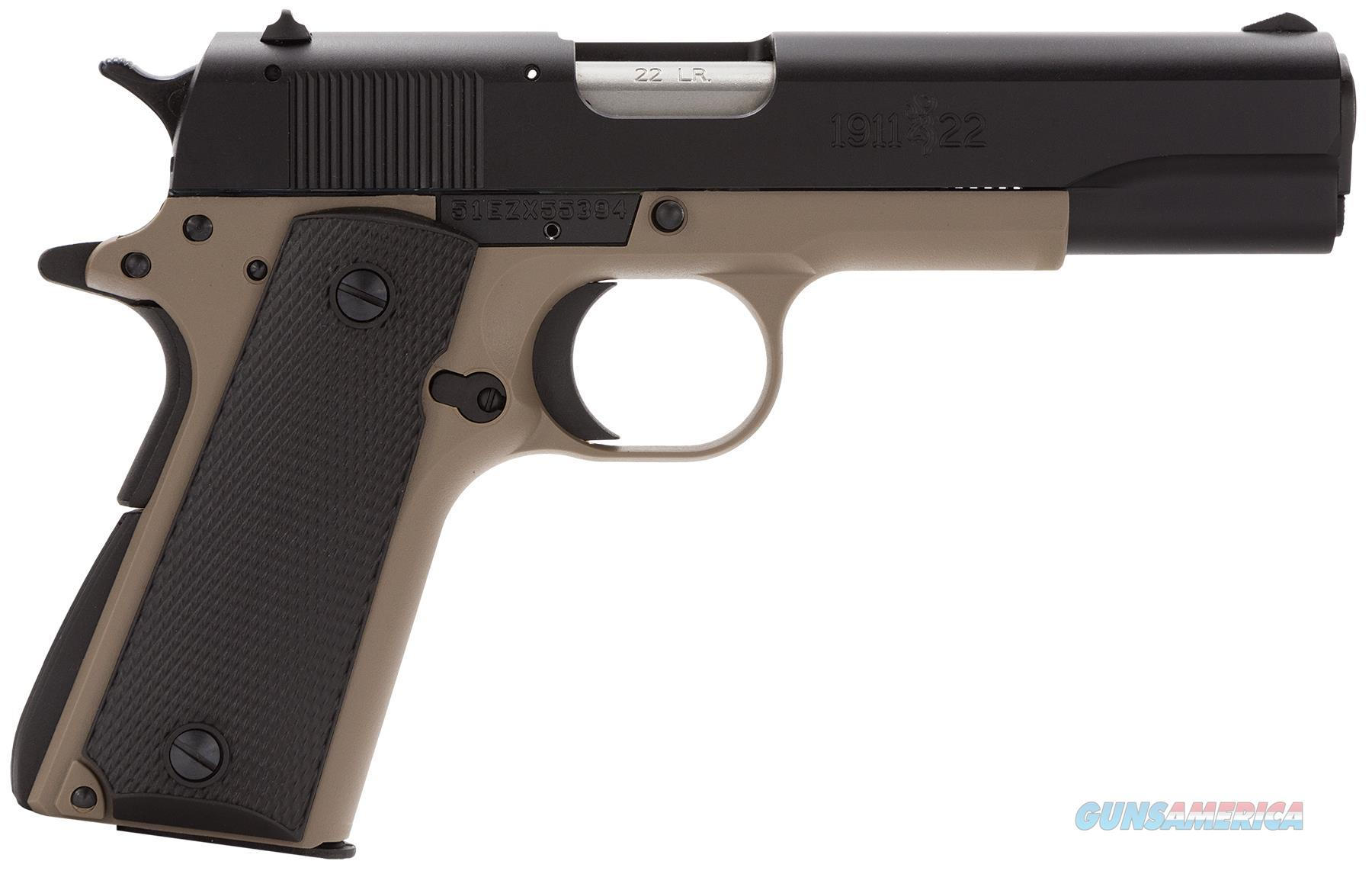 BROWNING 1911-22 A1 22LR 4.25 051808490  Guns > Pistols > Browning Pistols > Other Autos