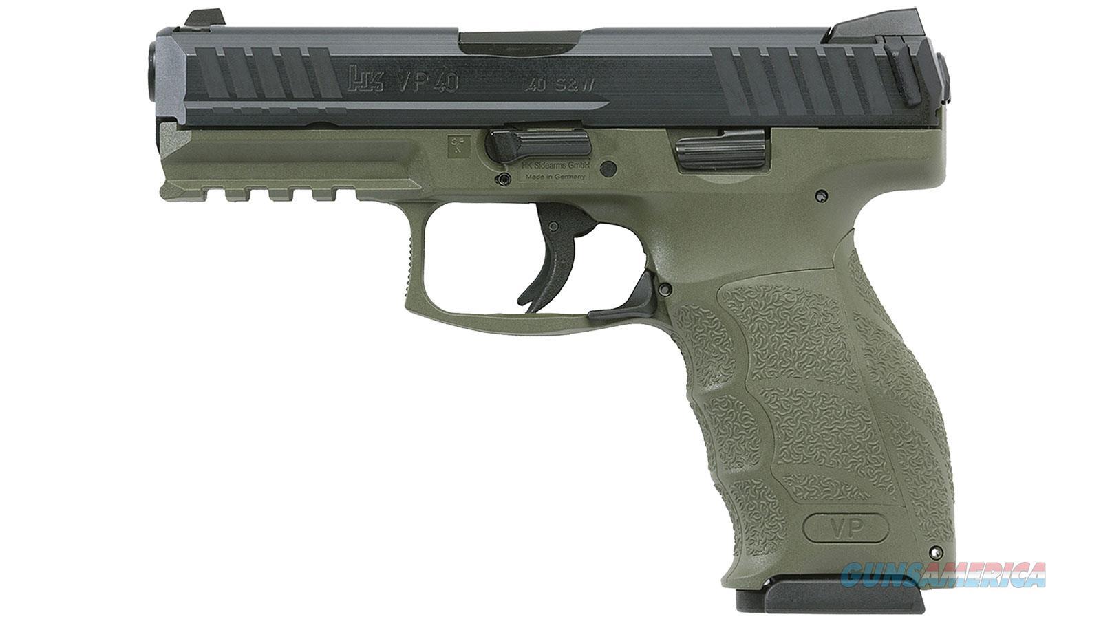 """Heckler & Koch Vp40 40Sw 4.1"""" 10Rd 700040GRLEL-A5  Guns > Pistols > H Misc Pistols"""