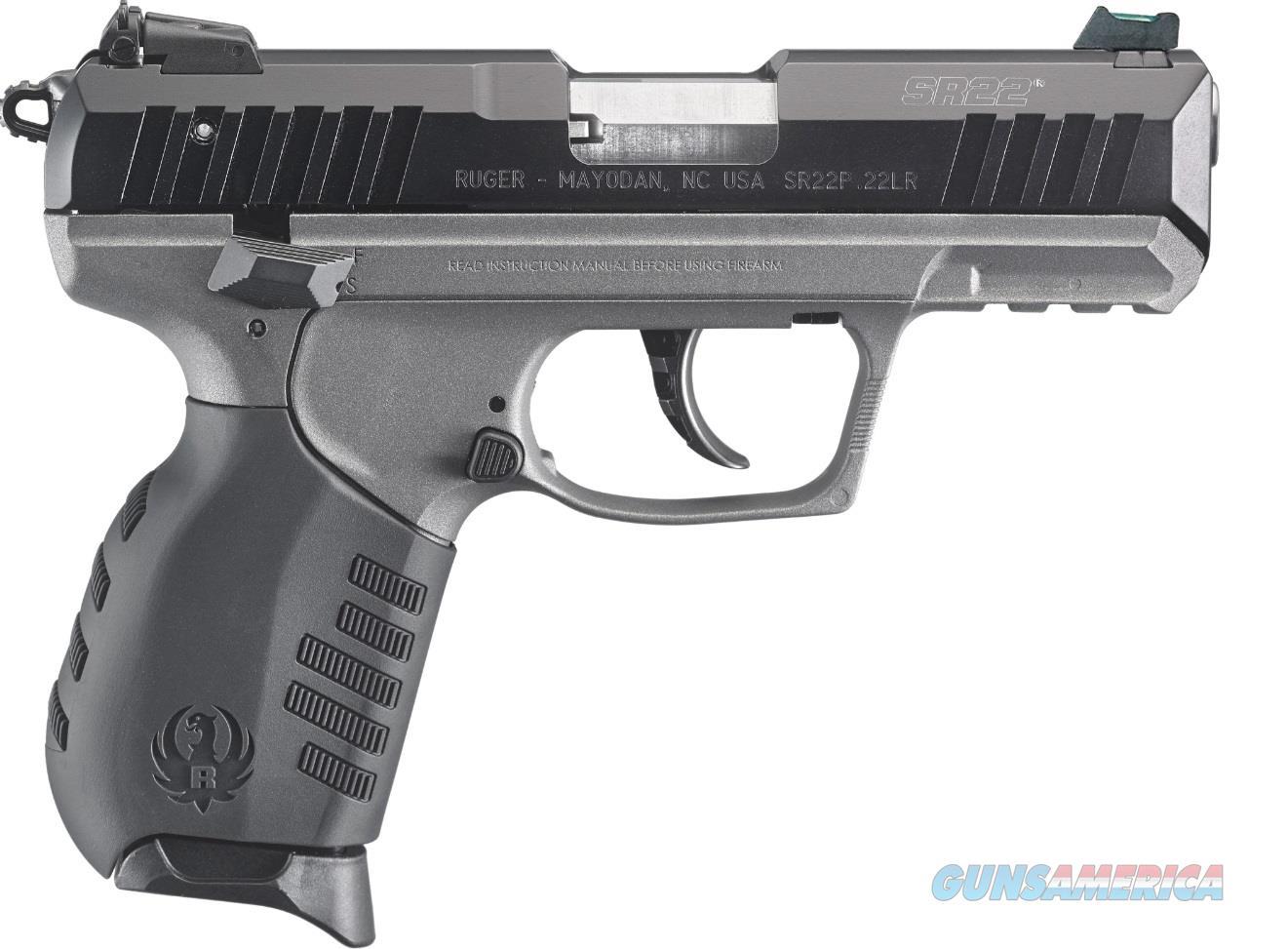 Sr22 Pistol 22Lr Bl/Tungsten 3627  Guns > Pistols > R Misc Pistols