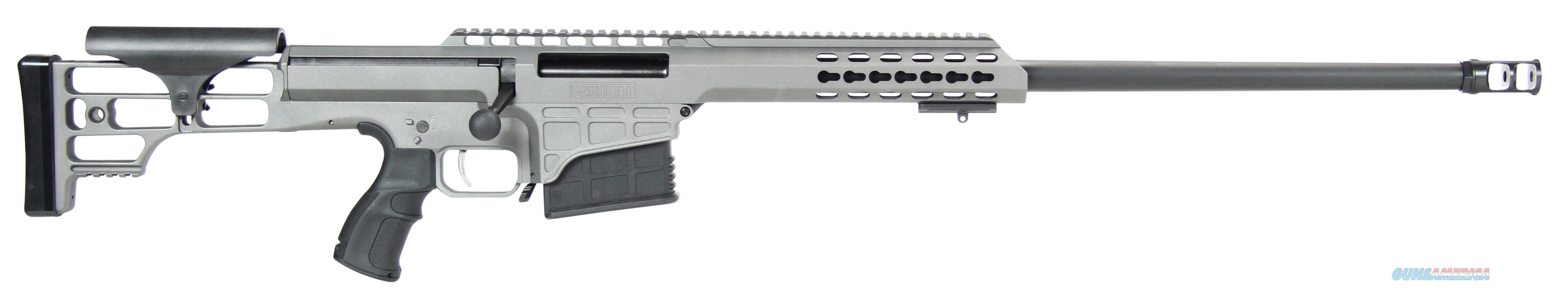 Barrett 98B 338Lap 24 Tactical Tungsten Gry 14802  Guns > Rifles > Barrett Rifles