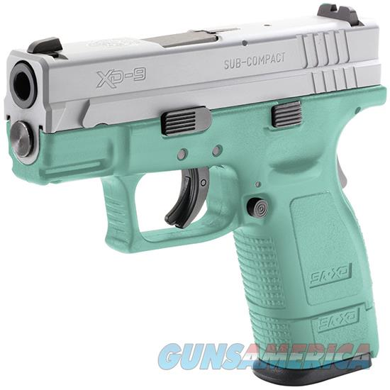 Springfield Armory Xd 9Mm 3 Subcompact Robins Egg Satin Alum XD9801HCRESA  Guns > Pistols > S Misc Pistols