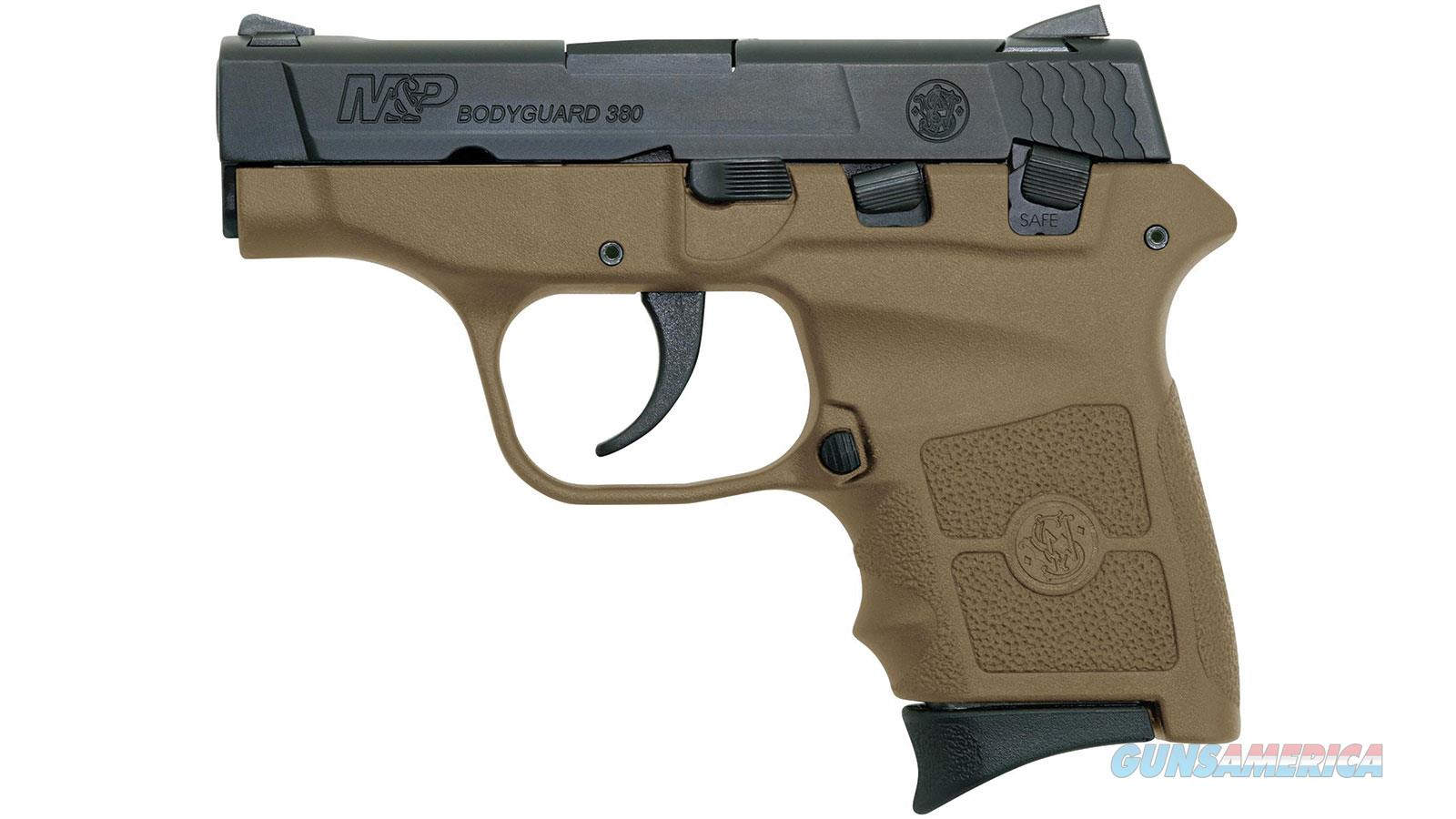 Smith & Wesson Bodyguard 380 10167 FDE No Laser With Safety  Guns > Pistols > Smith & Wesson Pistols - Autos > Polymer Frame