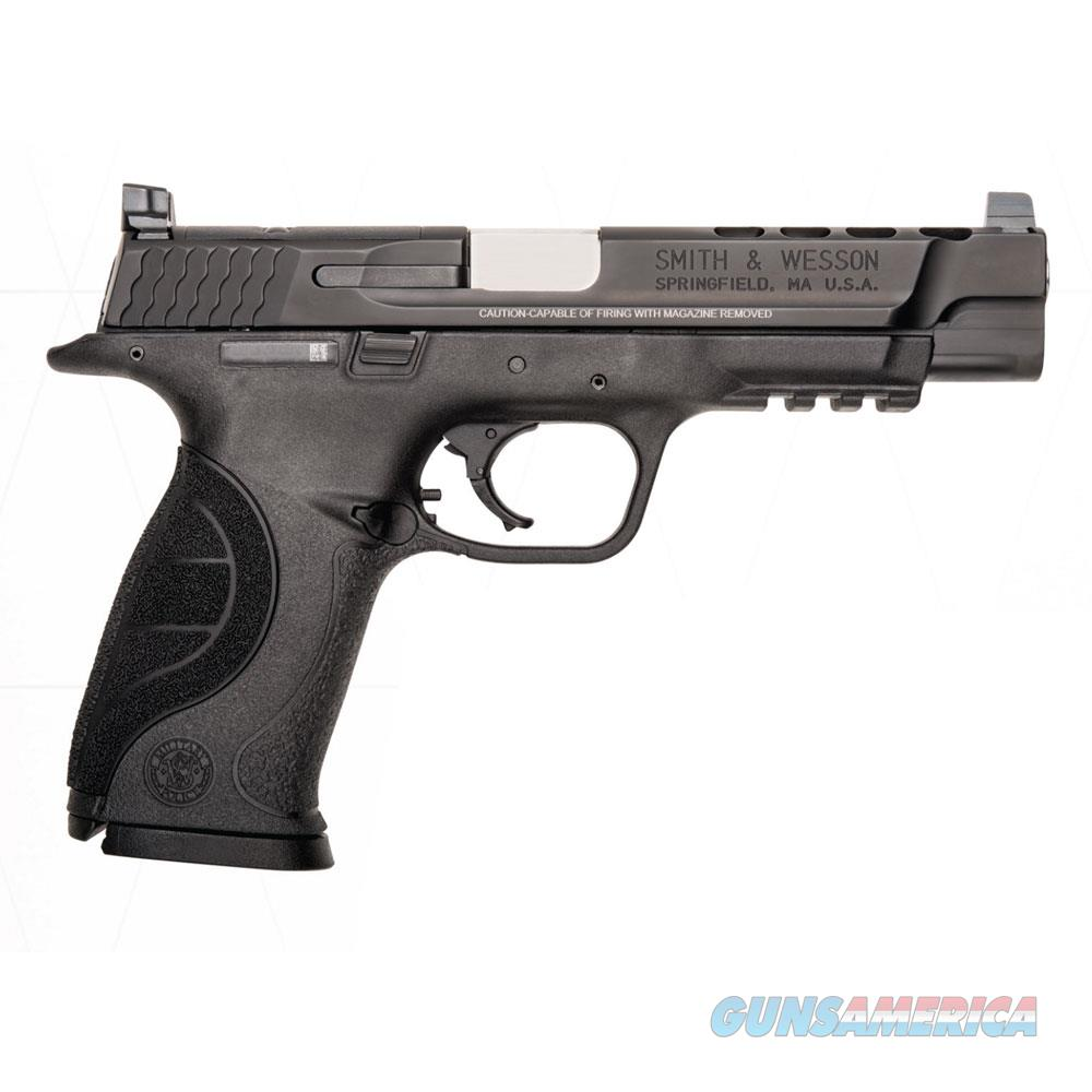 "SMITH & WESSON M&P 9MM 5"" 17RD PORT PC 10098  Guns > Pistols > Smith & Wesson Pistols - Autos > Polymer Frame"
