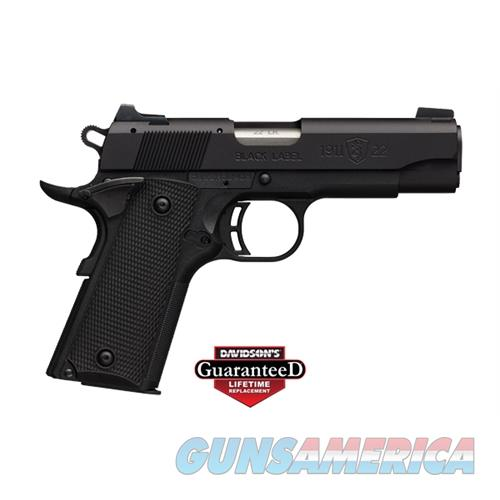 Browning 1911-22 Bl Spc 22Lr 10 Cmp 051868490  Guns > Pistols > B Misc Pistols
