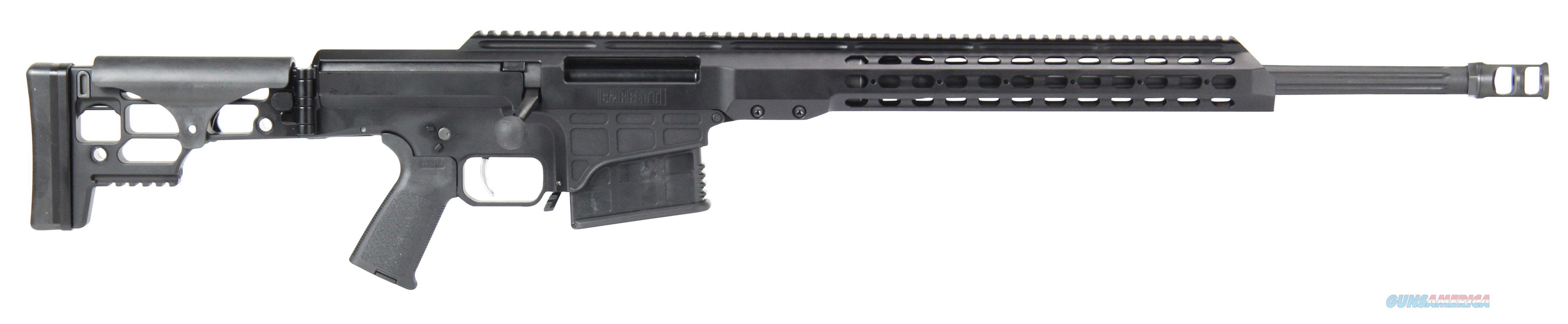 """Barrett 15468 Mrad Bolt 7Mm Remington Magnum 24"""" 10+1 Folding Blk Stk Blk Hard Coat Anodized 15468  Guns > Rifles > Barrett Rifles"""
