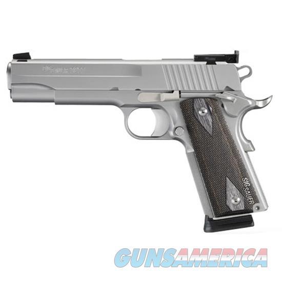 Sig Sauer 1911 45Acp Ss As Blackwood Grips Ca Legal 1911-45-S-TGT-CA  Guns > Pistols > S Misc Pistols