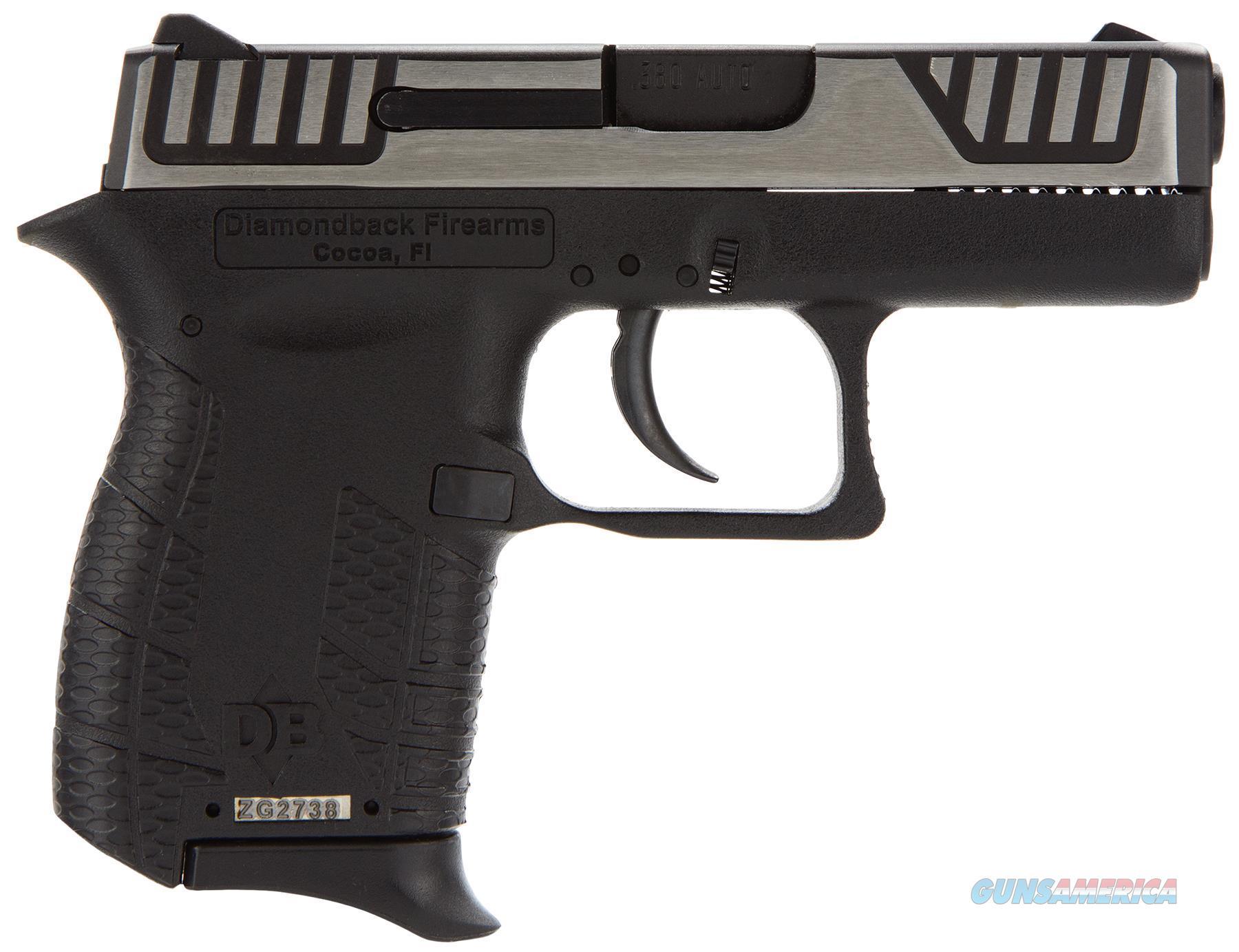 Diamondback Firearms Db 380 Dao Pst B 6Rd Duo DB380SL  Guns > Pistols > D Misc Pistols
