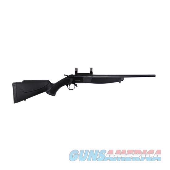 Cva Hunter Compact 243Win Blue Blk W/Mount CR5110  Guns > Rifles > C Misc Rifles