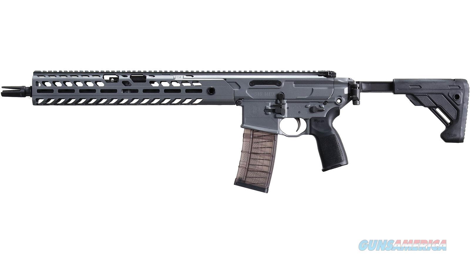 "Sig Sauer Mcx 5.56 16"" 30Rd RMCX-16B-TAP-P  Guns > Rifles > S Misc Rifles"