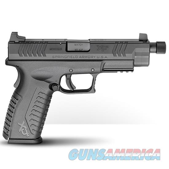 Springfield Armory Xdm 45Acp 4.5 Blk Threaded Barrel (3) Mags XDMT94545BHCE  Guns > Pistols > S Misc Pistols