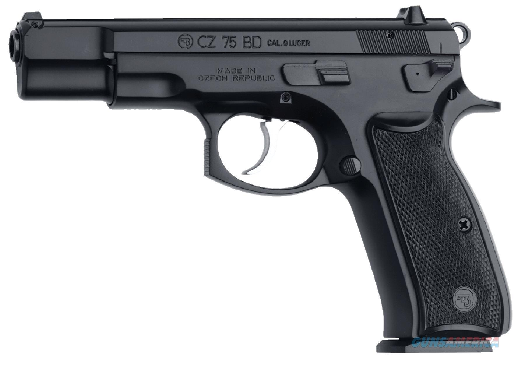 Cz Usa 75 Bd 9Mm Blk 10Rd Ca Compliant 01130  Guns > Pistols > C Misc Pistols
