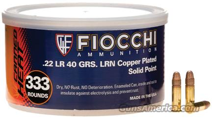 Fiocchi Canned Heat .22LR 40gr PSP 999rd/Can  Non-Guns > Ammunition