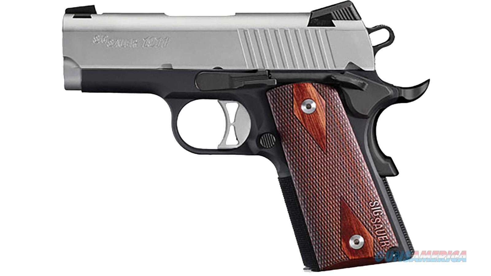 "Sig 1911Uc 9Mm 3.3"" Tt 8Rd Ns Rswd 1911UT-9-TSS  Guns > Pistols > S Misc Pistols"
