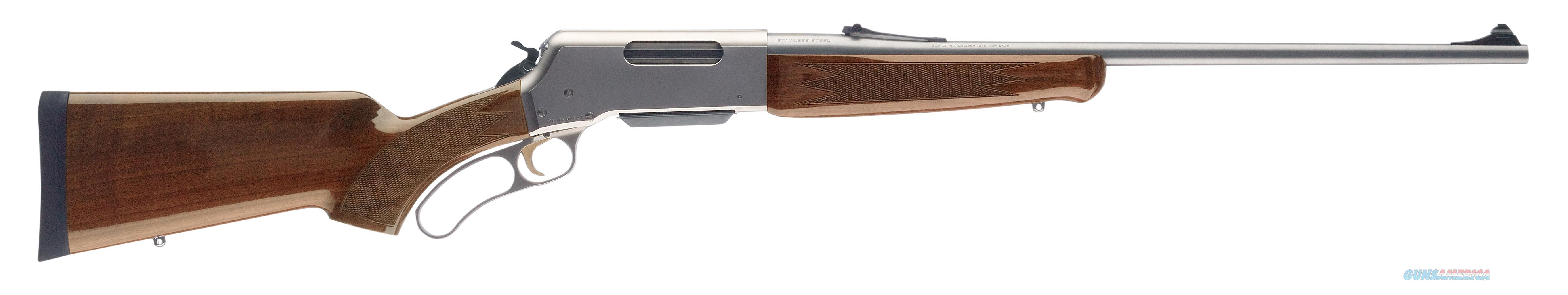 "Browning 034018126 Blr Lightweight Stainless With Pistol Grip Lever 30-06 Springfield 22"" 4+1 Walnut Stock Stainless Steel 034018126  Guns > Rifles > B Misc Rifles"