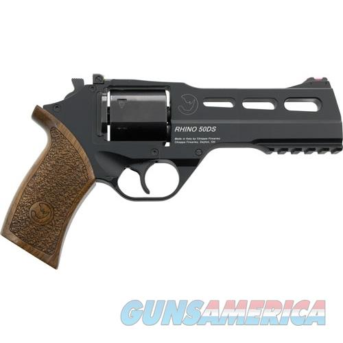 "Chiappa Firearms Rhino 50Ds 9Mm 5"" Adj. Sight Black/Walnut 340245  Guns > Pistols > C Misc Pistols"