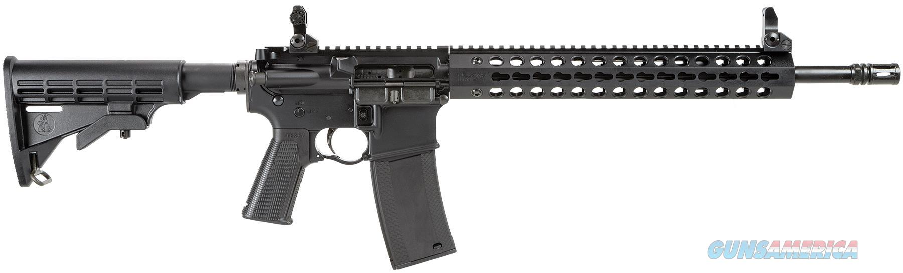 "TROY INDUSTRIES INC TROY CAR 16""/556 BLK 1-30RD SCAR-SP3-16BT-00  Guns > Rifles > Troy Defense > Troy Defense Rifles"