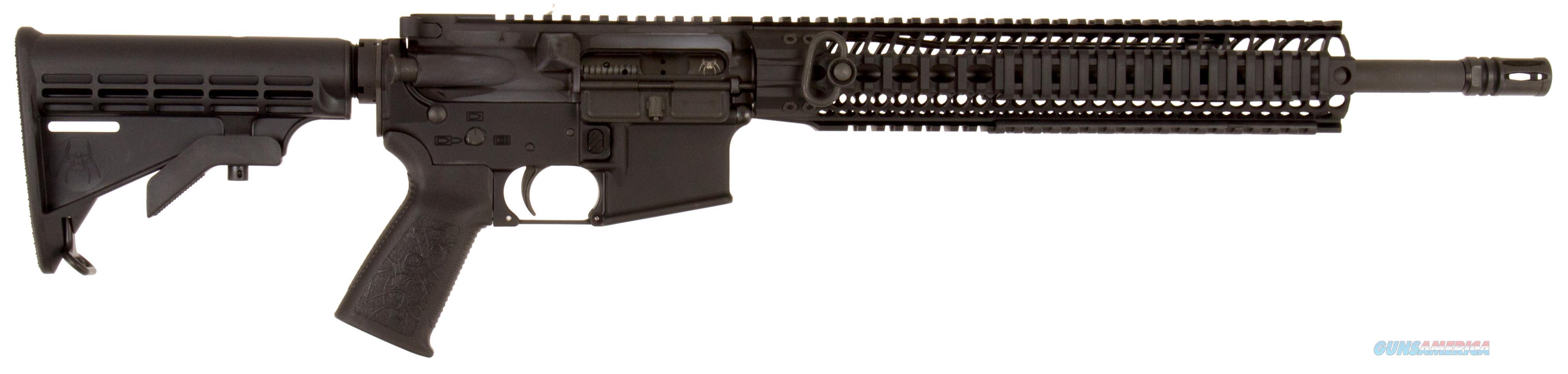 "Spikes Str5035r2s St-15 Le Mid Length With 12"" Bar2 Rail Semi-Automatic 223 Remington/5.56 Nato 16"" No Magazine 6-Position Black Stk Black Hard Coat Anodized STR5035-R2S  Guns > Rifles > S Misc Rifles"