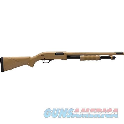 "Winchester Super-X Pump Defender 12Ga 3"" 18"" Cylinder Fde Syn 512326395  Guns > Shotguns > W Misc Shotguns"